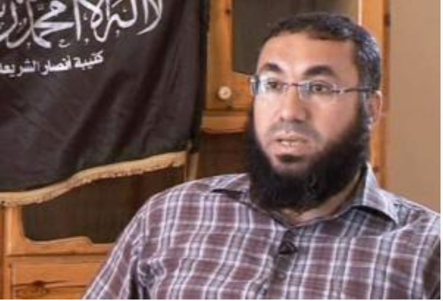 Almqml Zahawi leader of Ansar al-Sharia