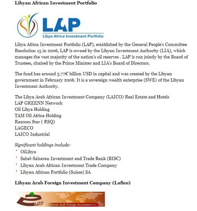 Libyan African Investment Authority,, p.3