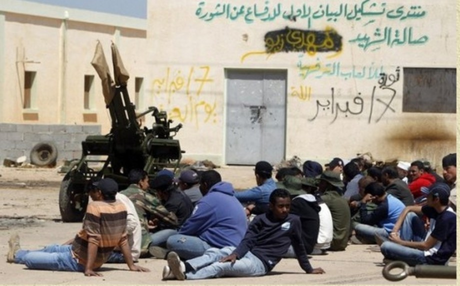 Terrorist training Camp in Benghazi