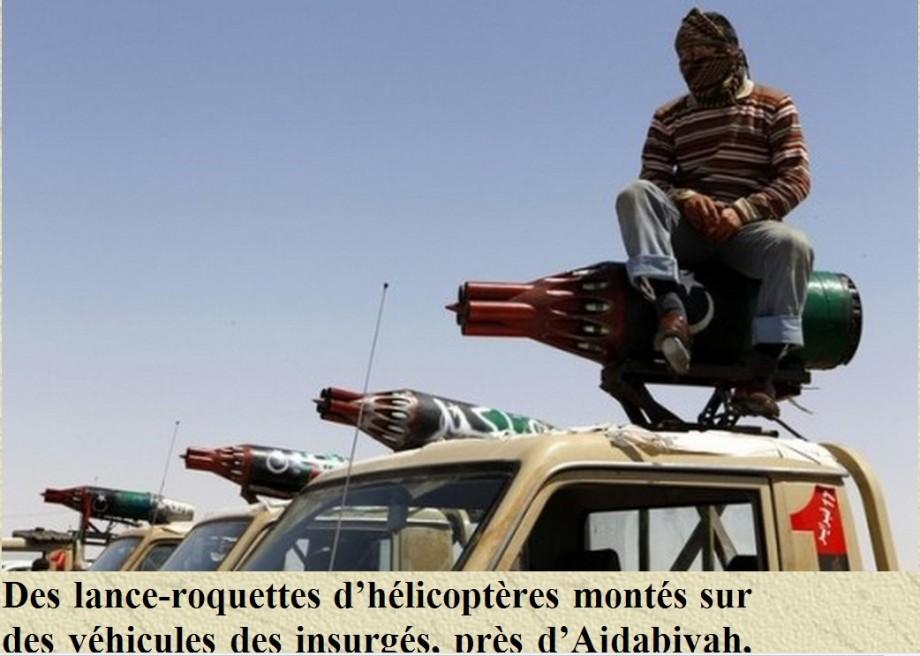 Terrorists by Ajdabiya