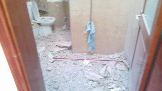 House damage on 01 MAY 2014 from NATO bombs, 4