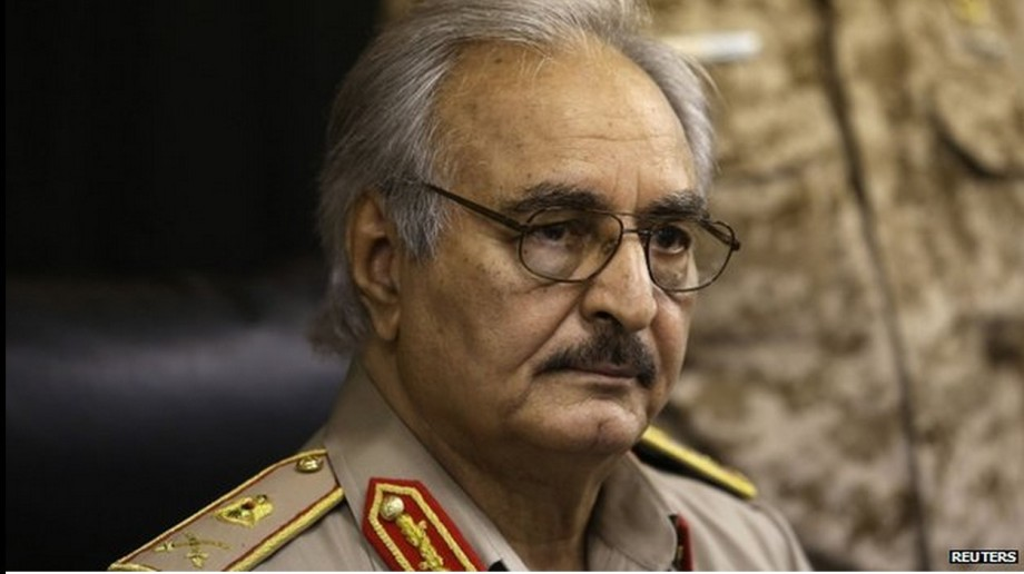 Major General Khalifa Haftar A Libyan, 2
