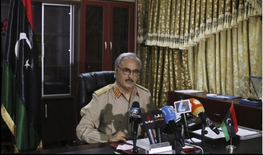 Major General Khalifa Haftar A Libyan, 3