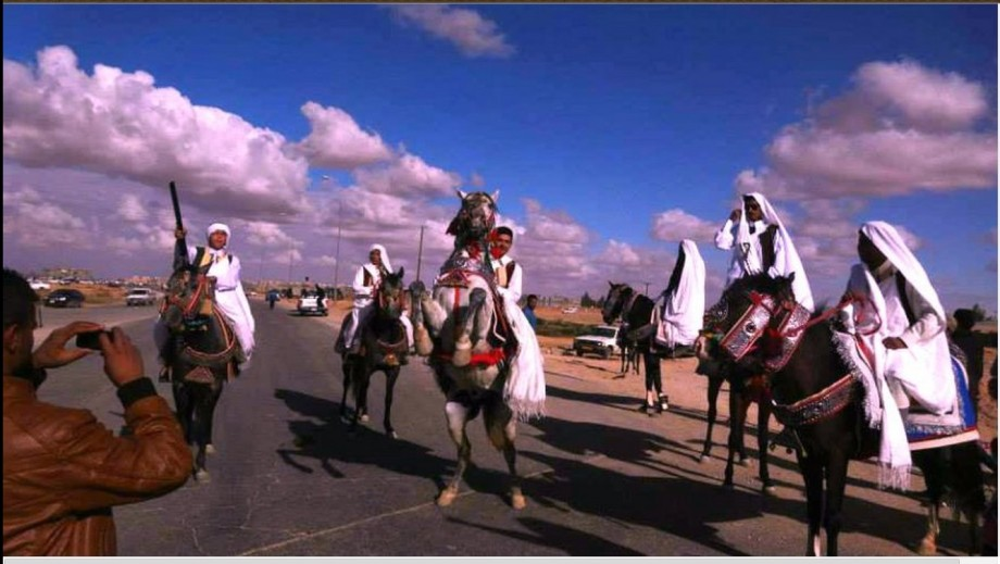 The Rishvana at Bani Walid celebration