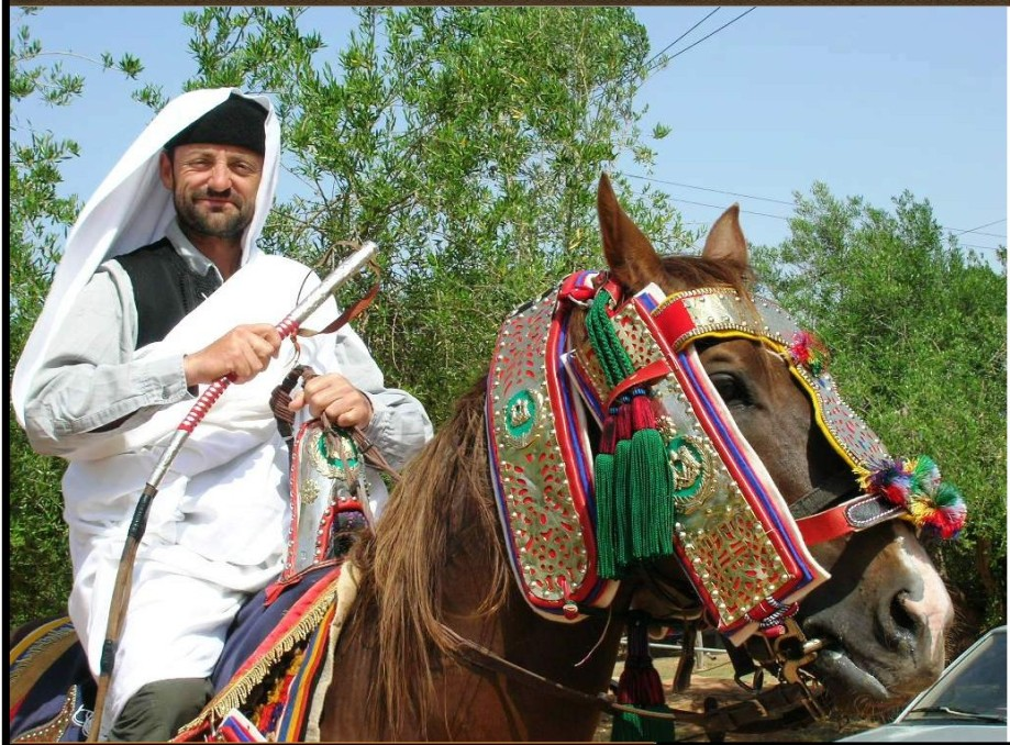 Zintani Rider at Festival