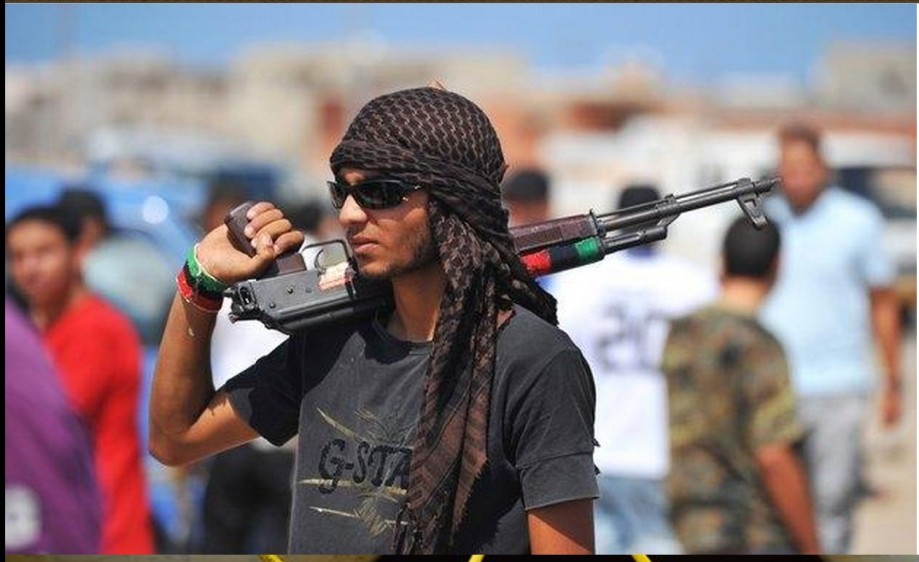 LIBYAN rebel