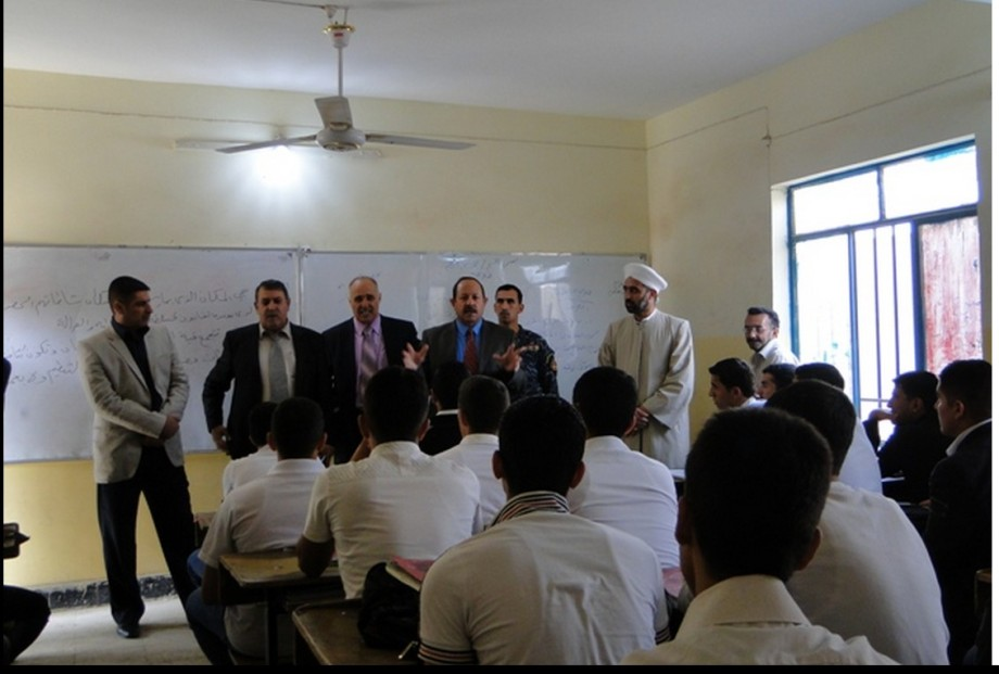 Rat Visit Zubair bin floater school first-the local Council, QSE bin GHASHIR