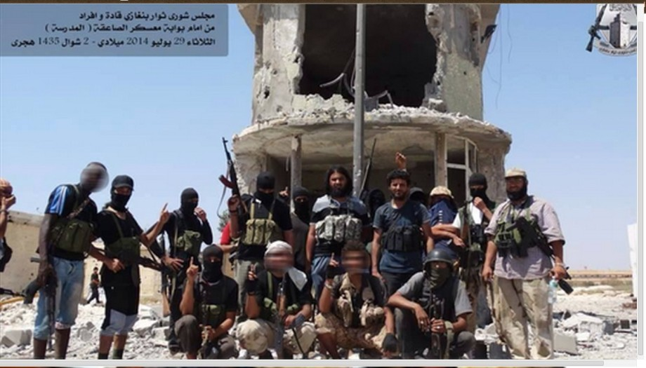 al-ZAHAWI and bin HUMAID in BENGHAZI