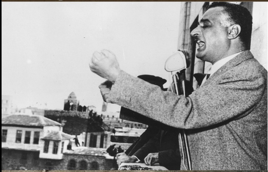 clash between Nasser and the 'Muslim' Brotherhood