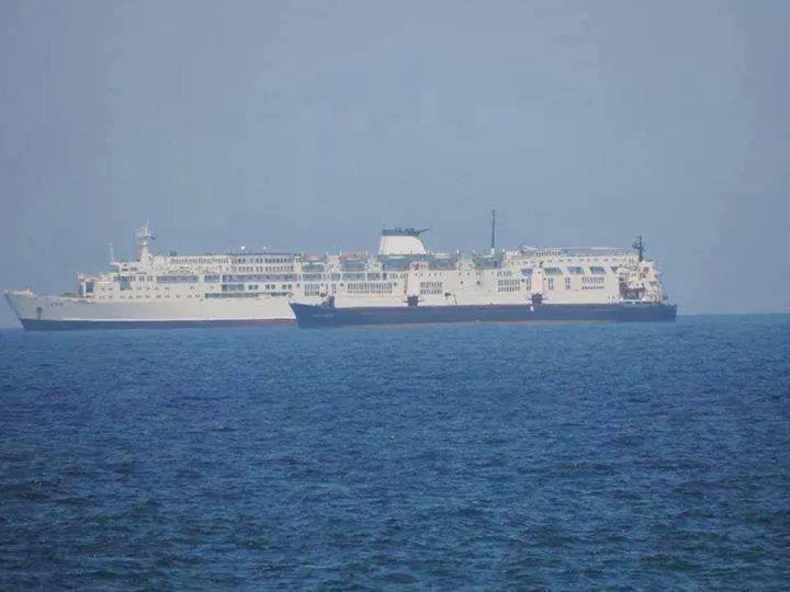 Floating Hotel, docked in Tobruk, for HOUSE OF REPRESENTATIVES