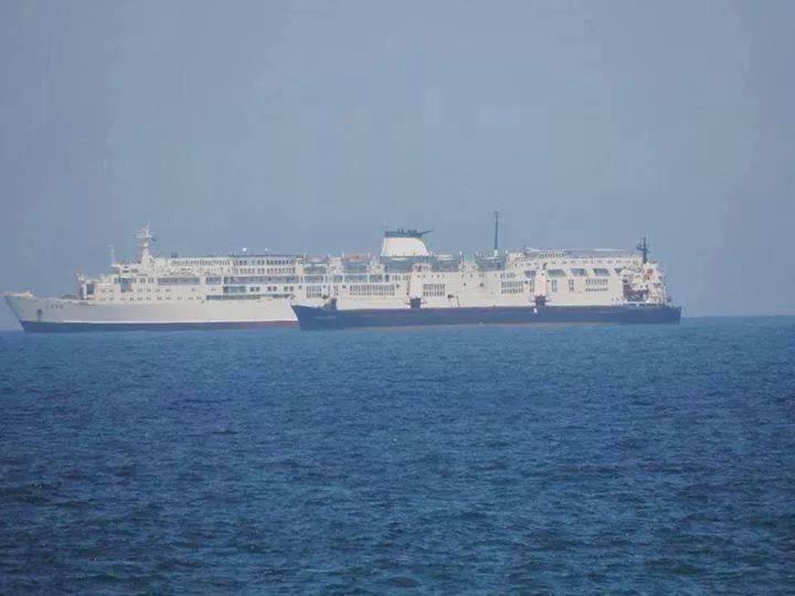Floating Hotel, docked in Tobruk, for HOUSE OF REPRESENTATIVES