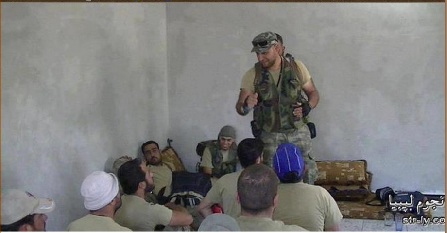 Gneoh training other militants