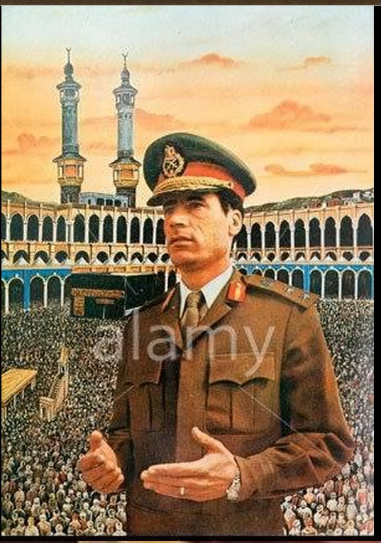 Young colonel over the Hajj