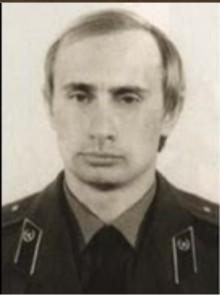 Young Vladimar Putin