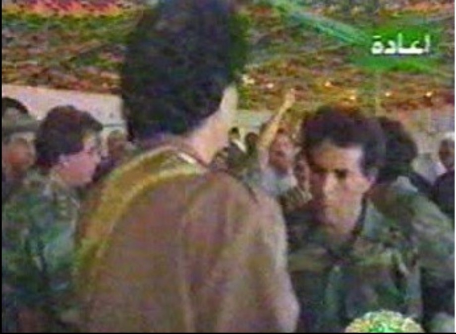 Mu rally in 1996, when LIFG and Brits tried to assassinate him