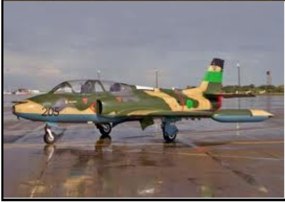 air force Galeb aircraft of the GREAT JAMAHIRIYA flown by GREEN ANGELS of the Red Army, ZINTAN, of the GREAT JAMAHIRIYA