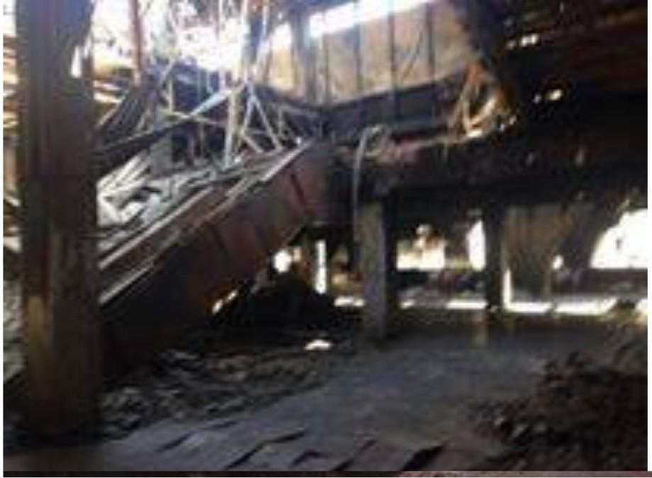 bombing of the Mountain Bridge 10 OCT. 2014