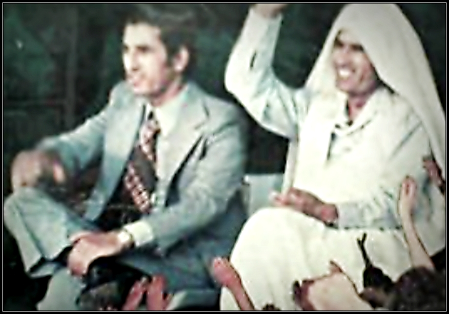Gadhafi with Ramadan Kareem