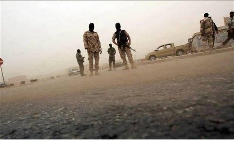 Libyan Army on guard