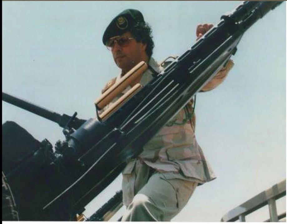 Ahmed Ali howitzer blood Gadaf-a-dam