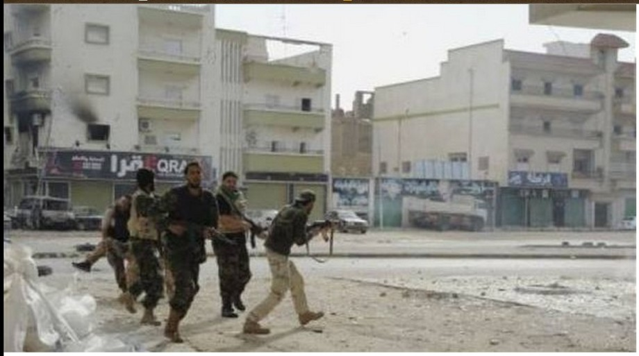 fighting in al-SABRI, Benghazi