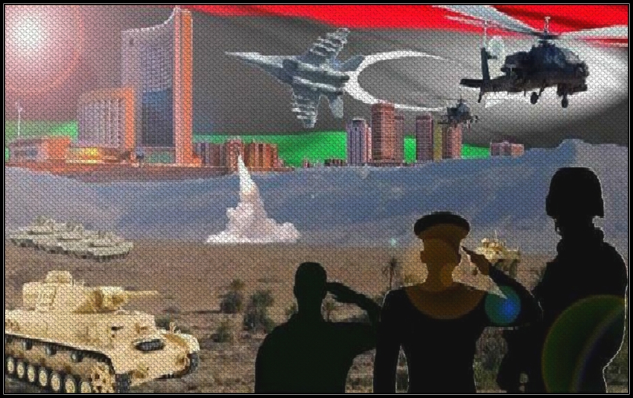 Libyan armed forces and air command