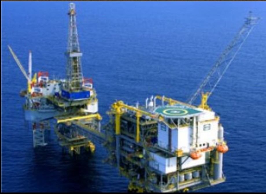 Libyan oil rig