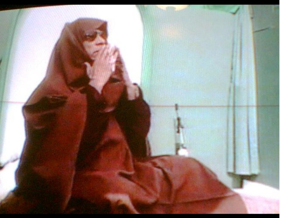 Muammar smothered in Prayer