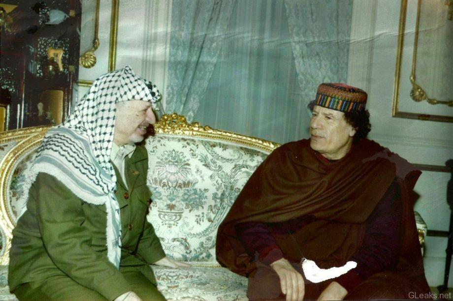 Muammar w Jascha Arafat in full color