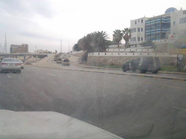 TRIPOLI entering tourist areas