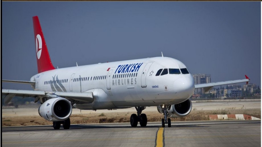 Turkish government private airline lands at MITIGUA