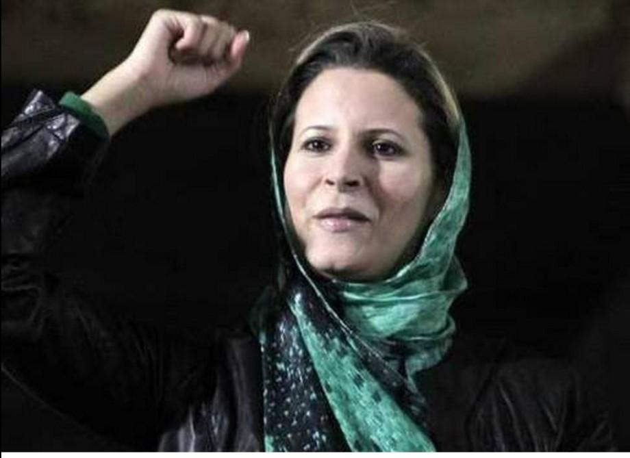 Aischa Gaddafi, barister daughter of Muammar al-Qathafi