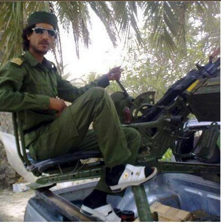 Green al-Qathafi soldier PDF