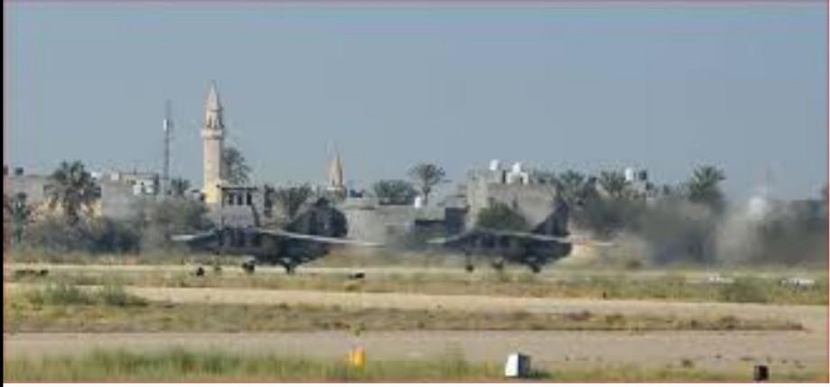 landing of a Libyan MiG-23 at WATTAYAH airbase