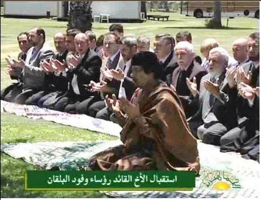 Mu leading Group prayer