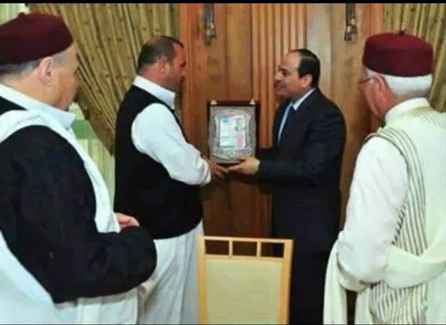 Sisi congradulates CYRENAICA and the Eastern tribes