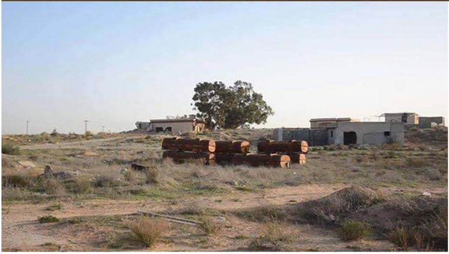 Complete control of the 'camp Shuyesheh' outside of AJEELAT, by the LIBYAN ARMY, 4