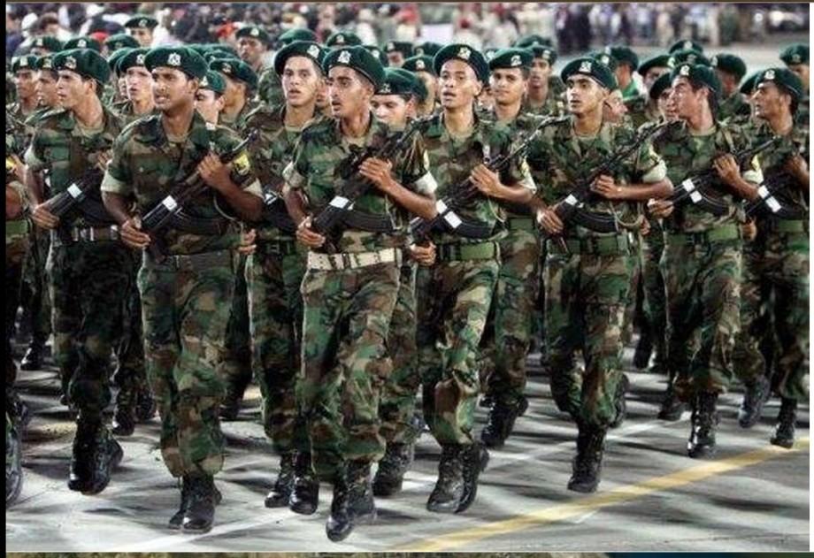 LIBYAN ARAB JAMAHIRIYA SOLDIERS