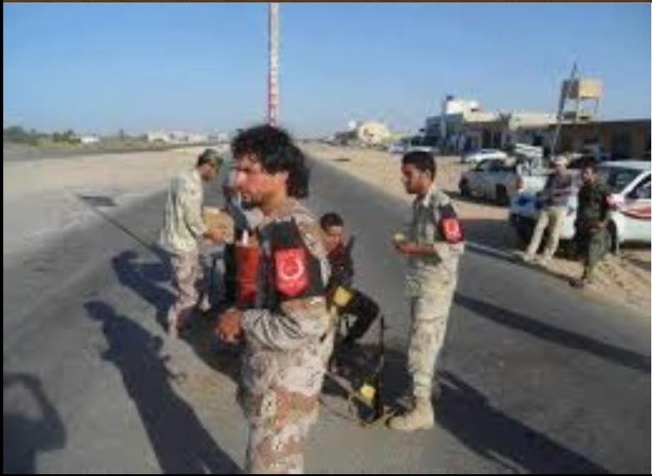 Libyan-Tunisian border