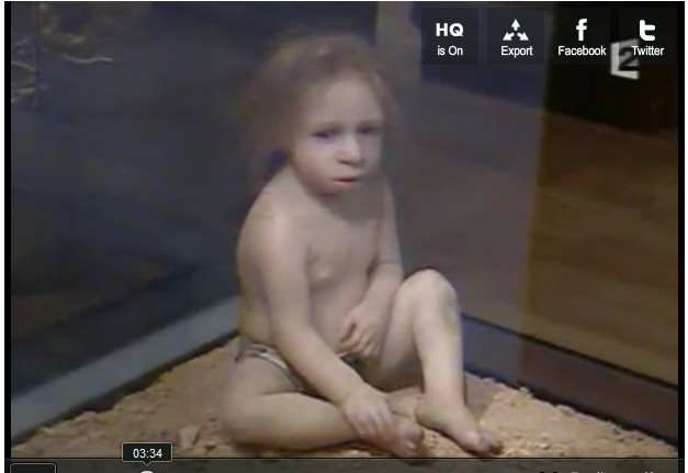 Neanderthal Child, Nice, FR