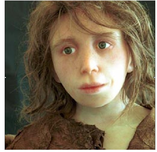 Neanderthal Girl-child
