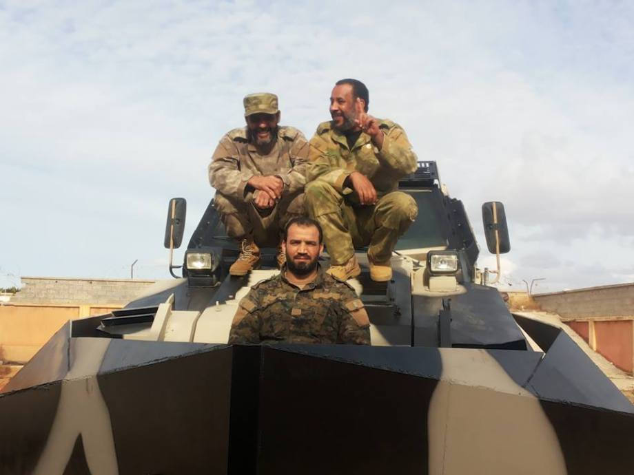 New armored vehicles enter service in Benghazi for the Special Forces 'THUNDERBOLT'  21st Division 'Salah Bohlaiqah', 1