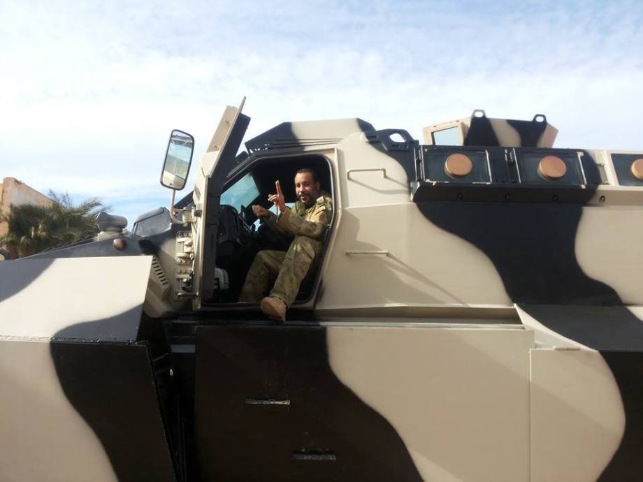 New armored vehicles enter service in Benghazi for the Special Forces 'THUNDERBOLT'  21st Division 'Salah Bohlaiqah', 2
