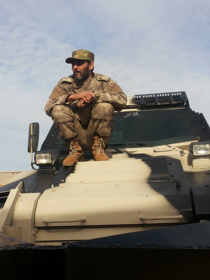 New armored vehicles enter service in Benghazi for the Special Forces 'THUNDERBOLT'  21st Division 'Salah Bohlaiqah', 3