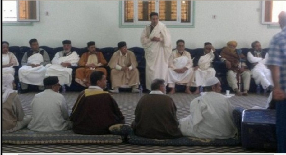Central Committee of the epiphyseal tribes, in Mizdah