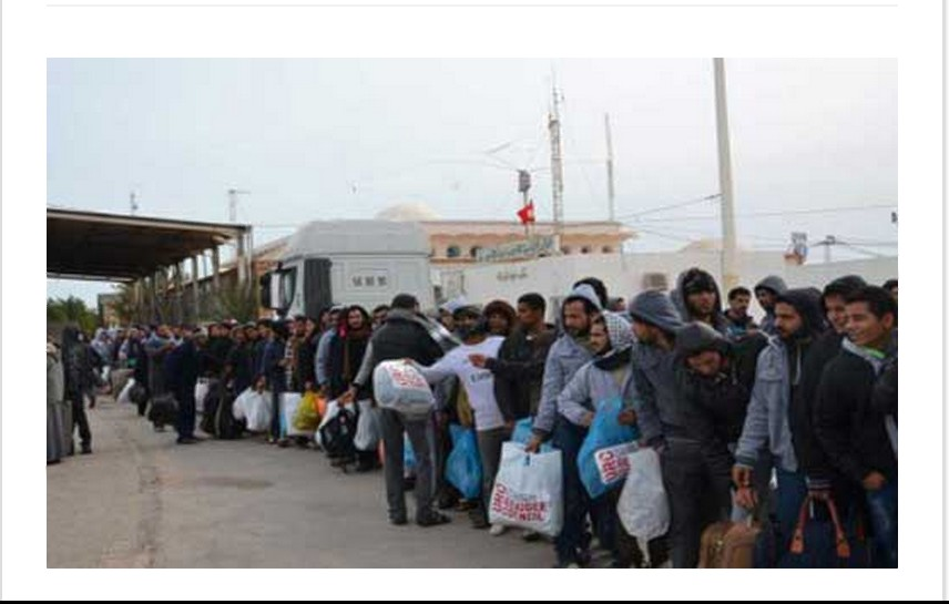 Egyptians deported from Libya