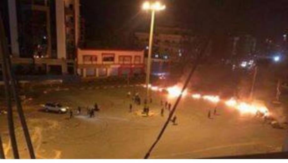 FASHLOUM street closed and terror, 2