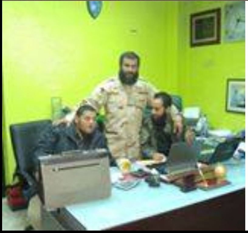 Haithem Tagouris when he was security Directorate under Hashem Humans