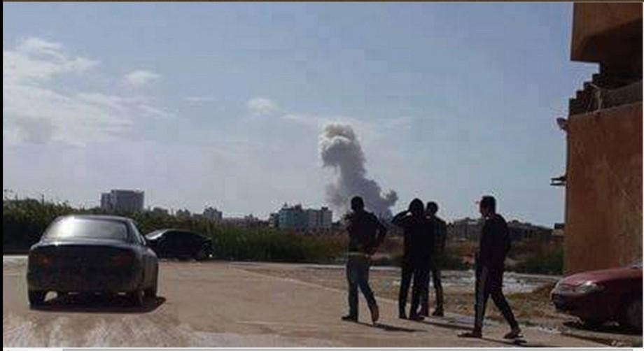 Randon shells keep falling in Benghazi