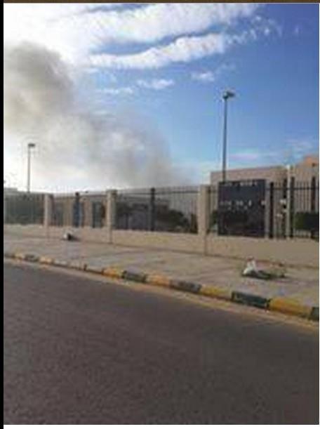 secretariats complex in the city of Sirte, 2
